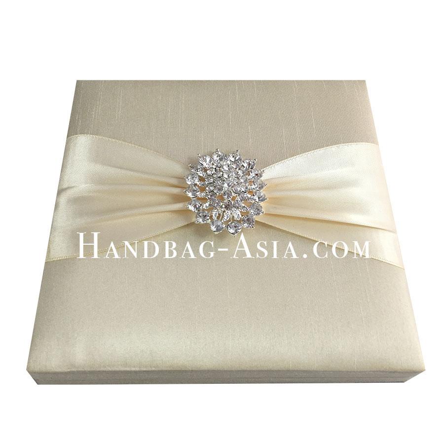 Dupioni Silk Box For Wedding Invitations - Handbag-Asia.com | Luxury ...