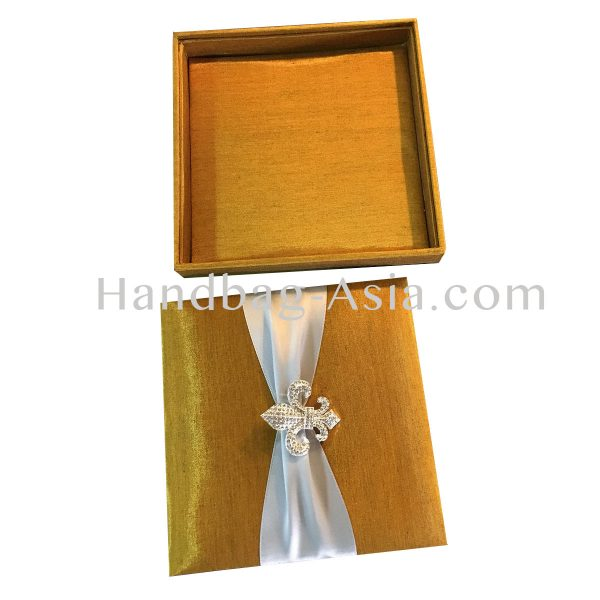 embellished fleur de lis box