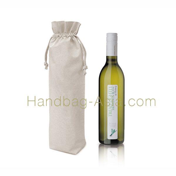 cotton wine bottle gift bag