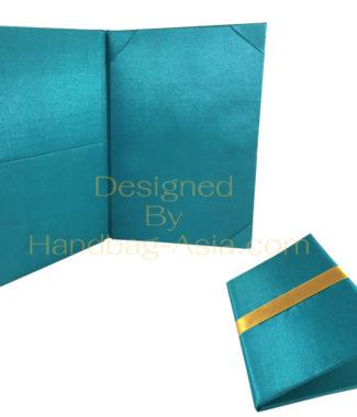 Wholesale Invitation Folder Silk Pocket Book