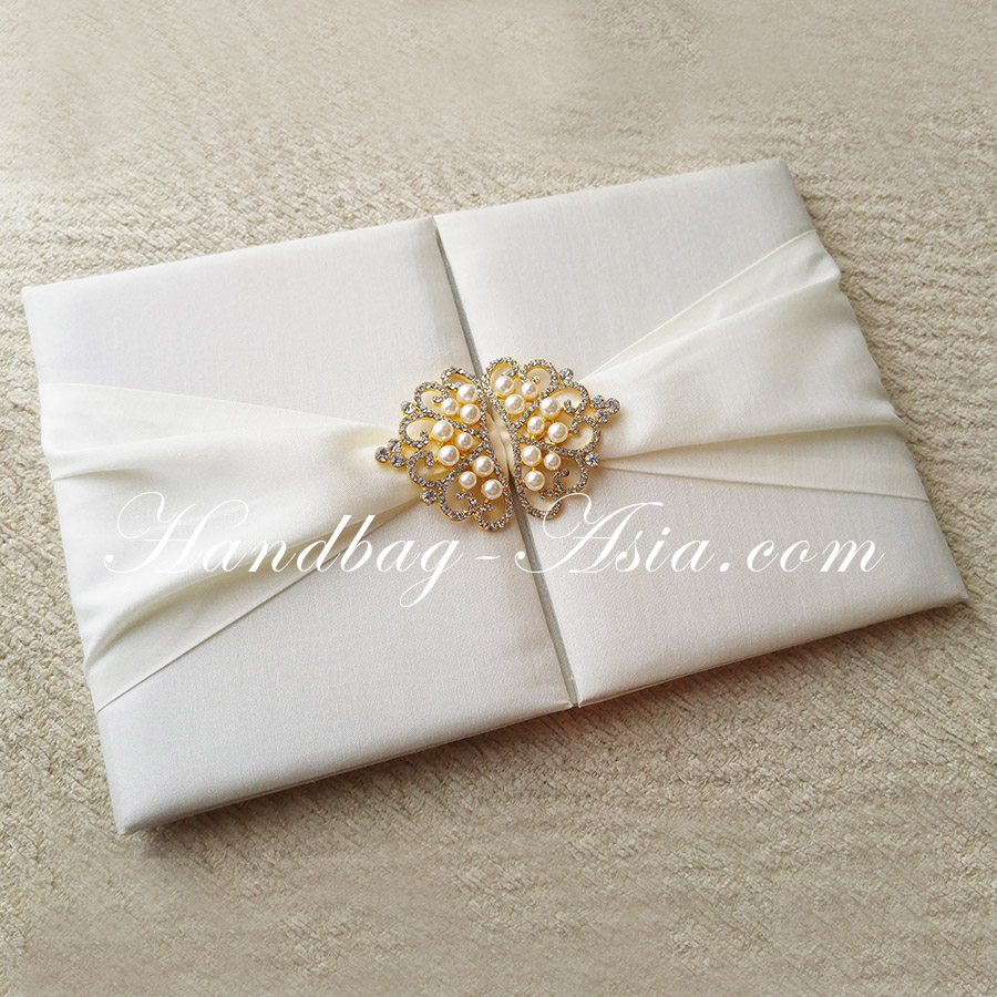 Handmade wedding invitation folder designed for luxury for Luxury handcrafted wedding invitations