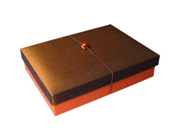 Thai silk gift box