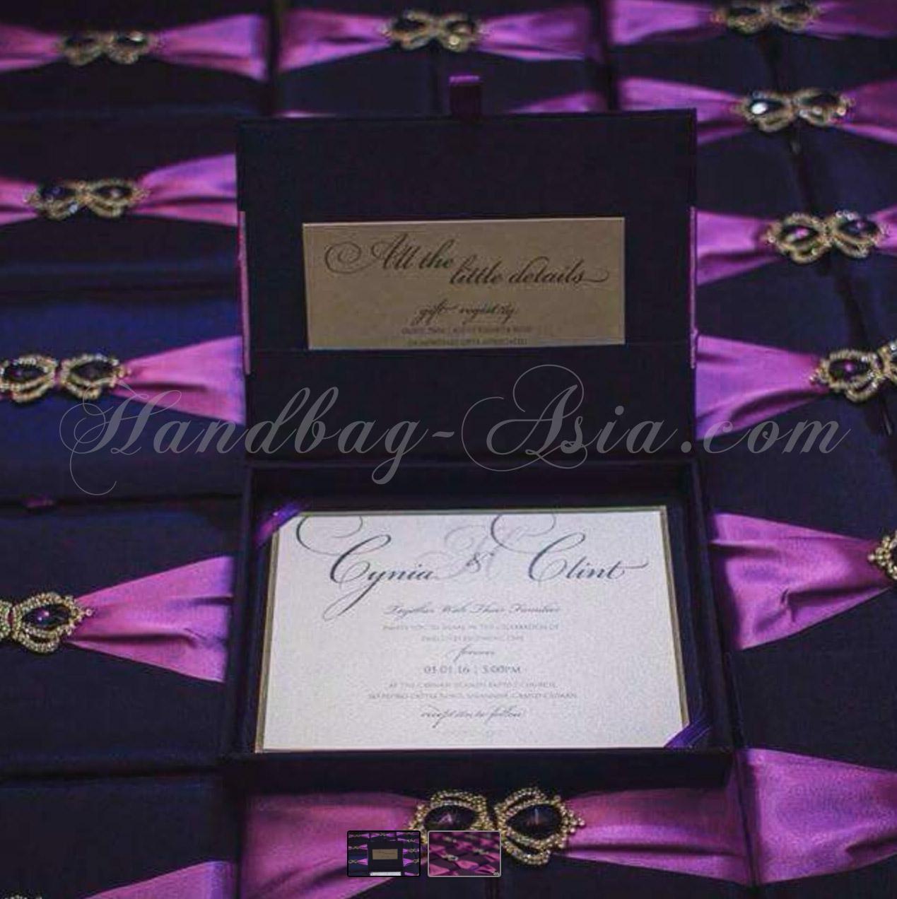 Wedding Box: Purple Wedding Invitation Card At Websimilar.org
