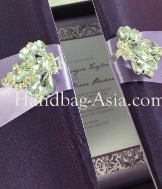 Invitation box gatefold invitation boxed wedding invitation - Wedding Invitation Box Ivory With Golden Ribbon And