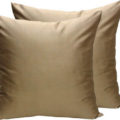 Asian silk cushion cover