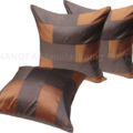 Modern designer Thai silk cushion cover