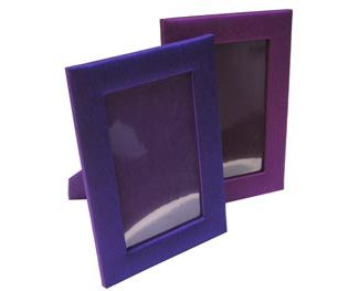 Thai silk picture frames