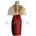 Thai silk wine bottle bag