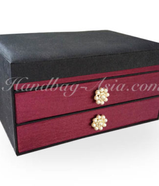 silk jewelry box