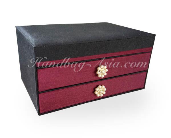 silk jewelry box