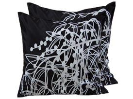modern silk cushions