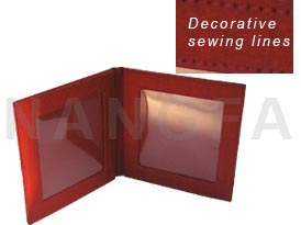 red thai silk photo frame