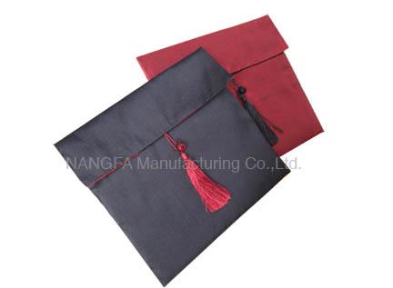 tassel silk pouches