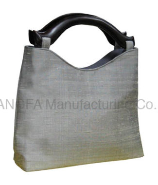Silver silk bag for wholesale