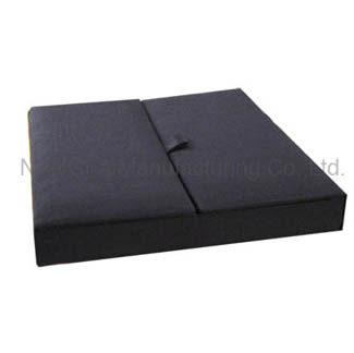 Black gatefold box for wedding invitations