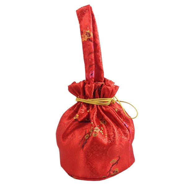 Red Chinese gift bag