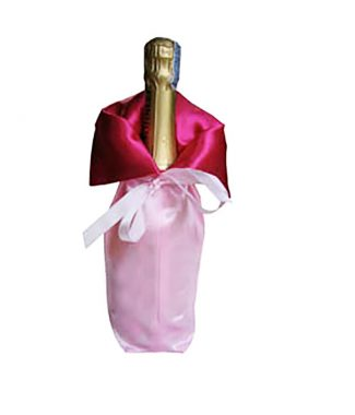 satin wine bottle bags