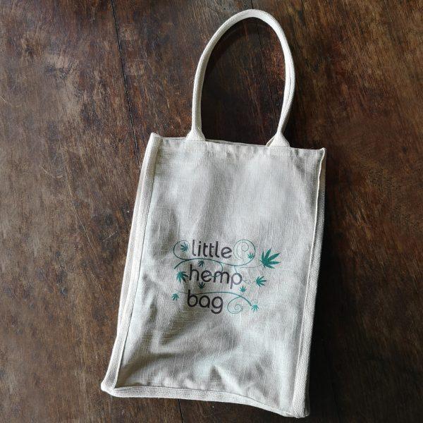 hemp shopping bag