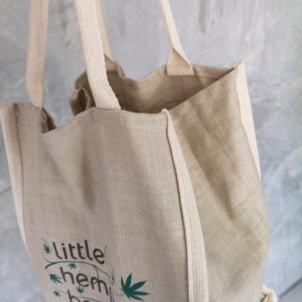 hemp eco shoulder bag