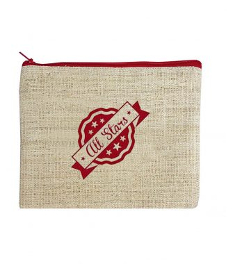 hemp cosmetic bag