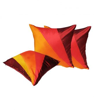 Luxury silk cushions