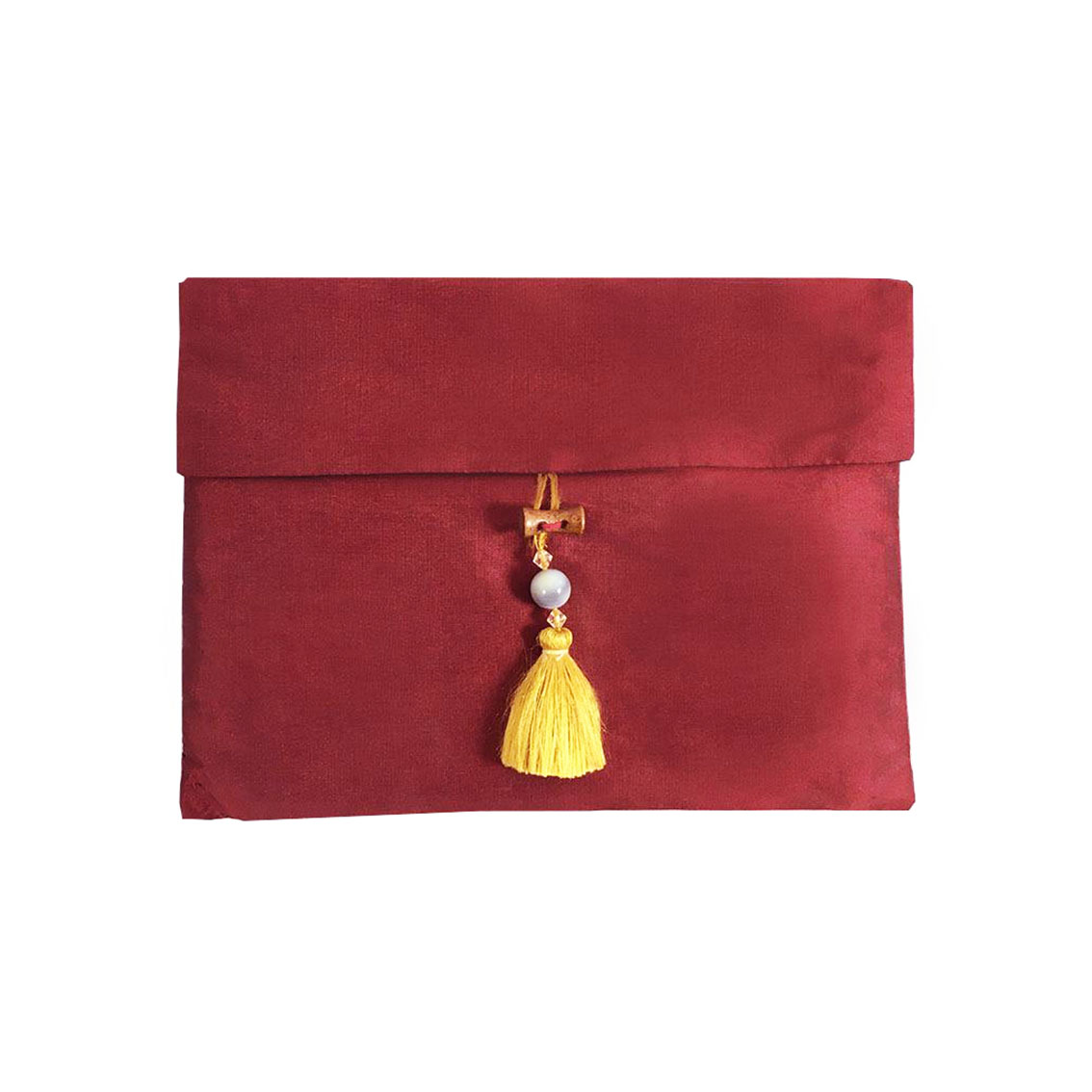 Thai silk pouches & Thai silk envelopes with tassel for gift ...