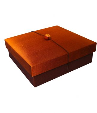 Premium gift Thai silk box