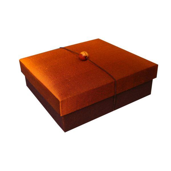Premium gift Thai silk box