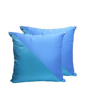 tiffany blue silk cushions
