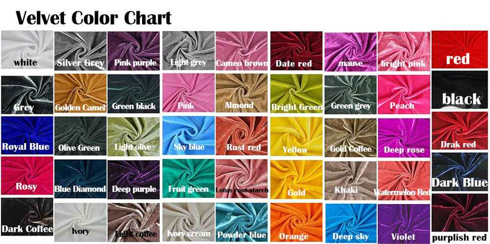 Textile Color Chart Of Silk Linen Satin Ribbon Hemp