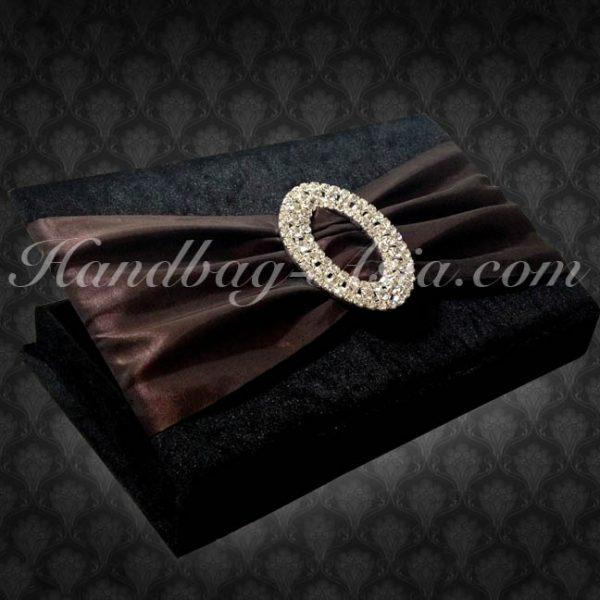 Black wedding box with buckle