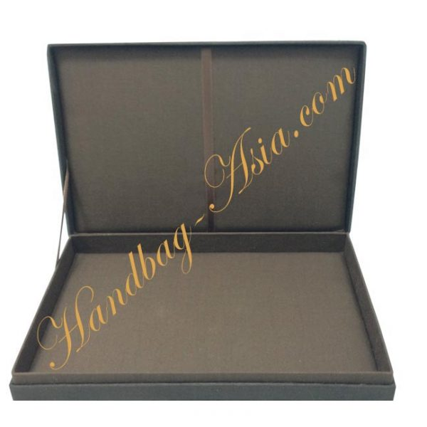 Chocolate brown wedding boxes for invitations