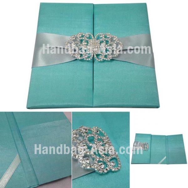embellished wedding folder for invitation cards
