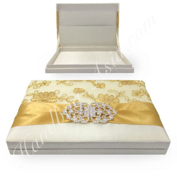 Lace Wedding Invitation Boxes