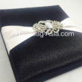Black Silk Box For Your Luxurious Silk Cards
