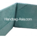 Teal Color Suede Book-Folder For Wedding & Event Invitation Cards