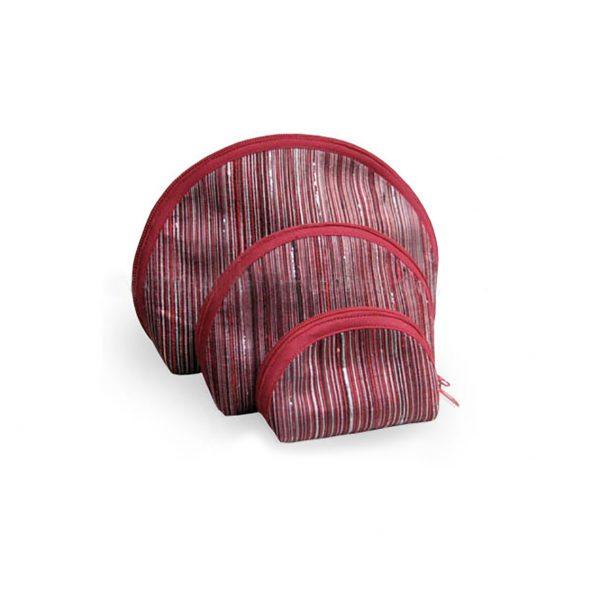 silk cosmetic bag set
