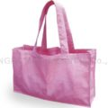 Large pink cotton shopping bags