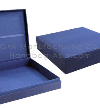navy blue wedding box