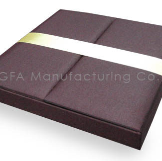chocolate brown wedding box