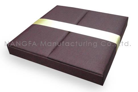 chocolate brown wedding box
