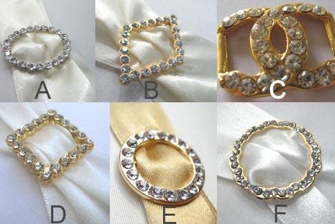 crystal buckle for wedding embellishments