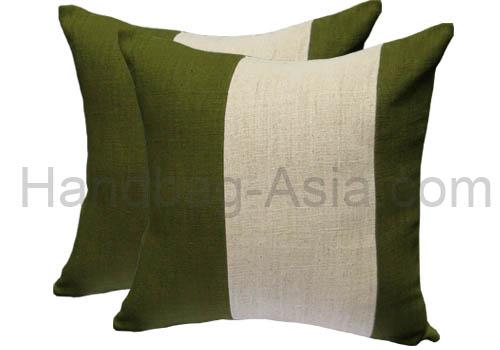 Classic Thai Style Decorative Cushion Cover With 100 Hemp