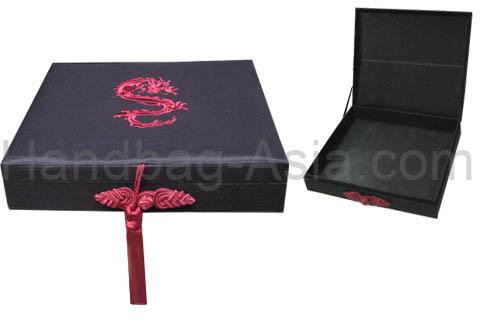 silk cigar box