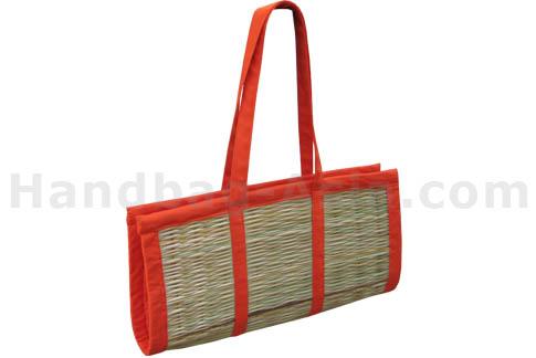Reed shoulder bag for wholesale
