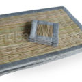 Reed coaster and placemats
