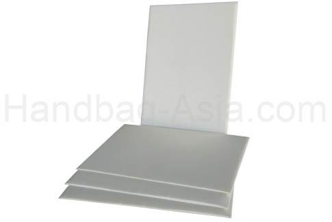 ivory silk invitation pad