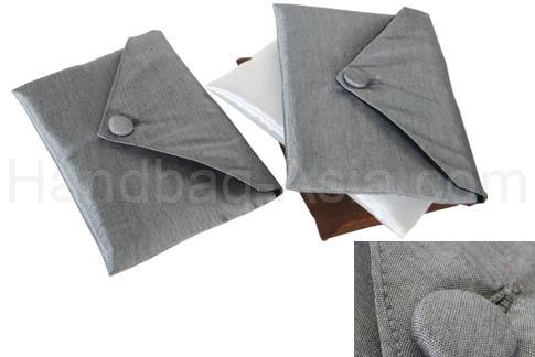silk wedding envelope