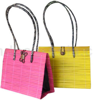 medium size Thai Bamboo Handbag