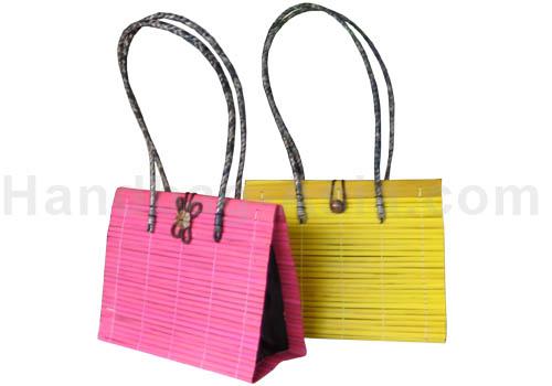 medium size Thai Bamboo Handbag